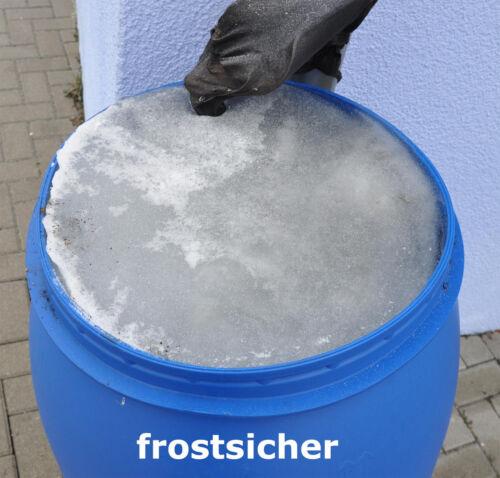 Deckelfass Spundfass Behälter 30-220 Liter Plastik Kunststoff blau UN-Zulassung