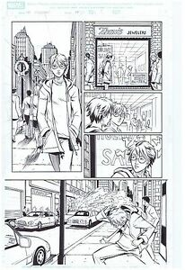 SPIDER-MAN-ORIGINAL-PUBLISHED-COMIC-ART-PAGE-POP-MHAN-AND-NORMAN-LEE-ART