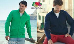 Zip Giacca The Loom Of 10 Color Leggera Pezzi Stock 14 Felpa Intera Fruit Cotone Tw6pqg