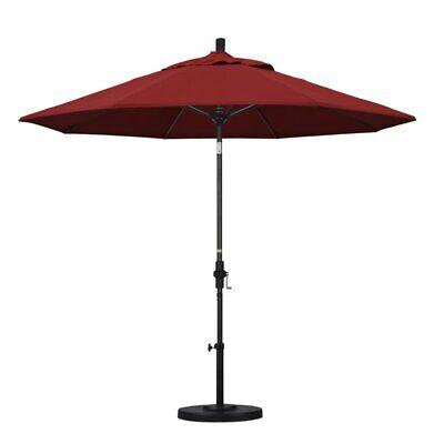 California Umbrella 9' Patio Umbrella in Red
