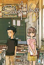 A SILENT VOICE volumi da 1 a 7 [di 7] ed. star comics manga completa
