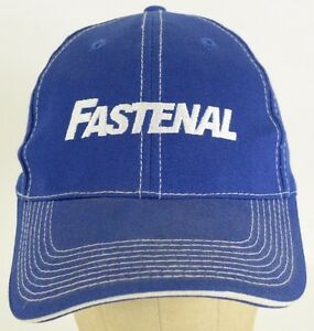 bf6a1d5b0ddc Fastenal Industrial Supplies Business Blue Baseball Cap Hat Adjustable