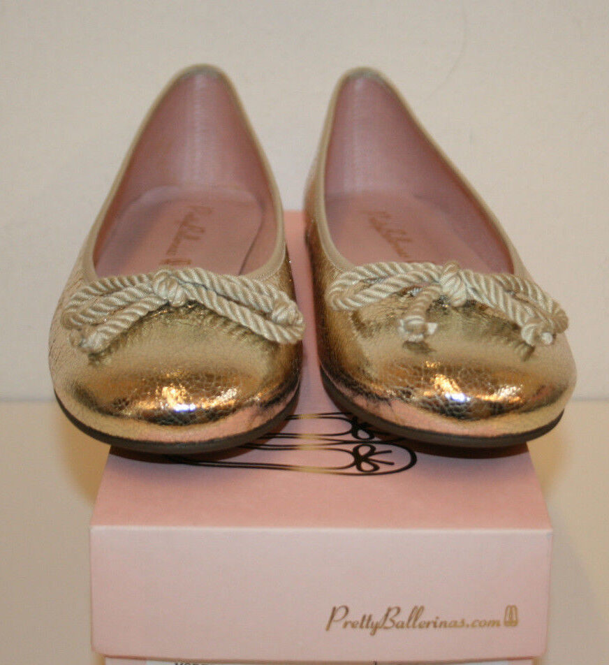 Pretty Ballerinas Ballerina Dream Sand Gr. 36,5 Lack gold