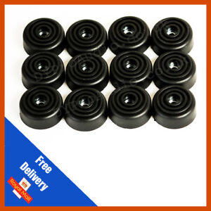 Rubber Feet for Speaker Cabinets /& Flight cases with washer Large