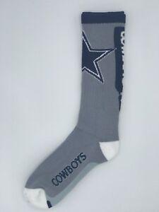 Dallas-Cowboys-NFL-Football-For-Bare-Feet-Crew-Socks-Large