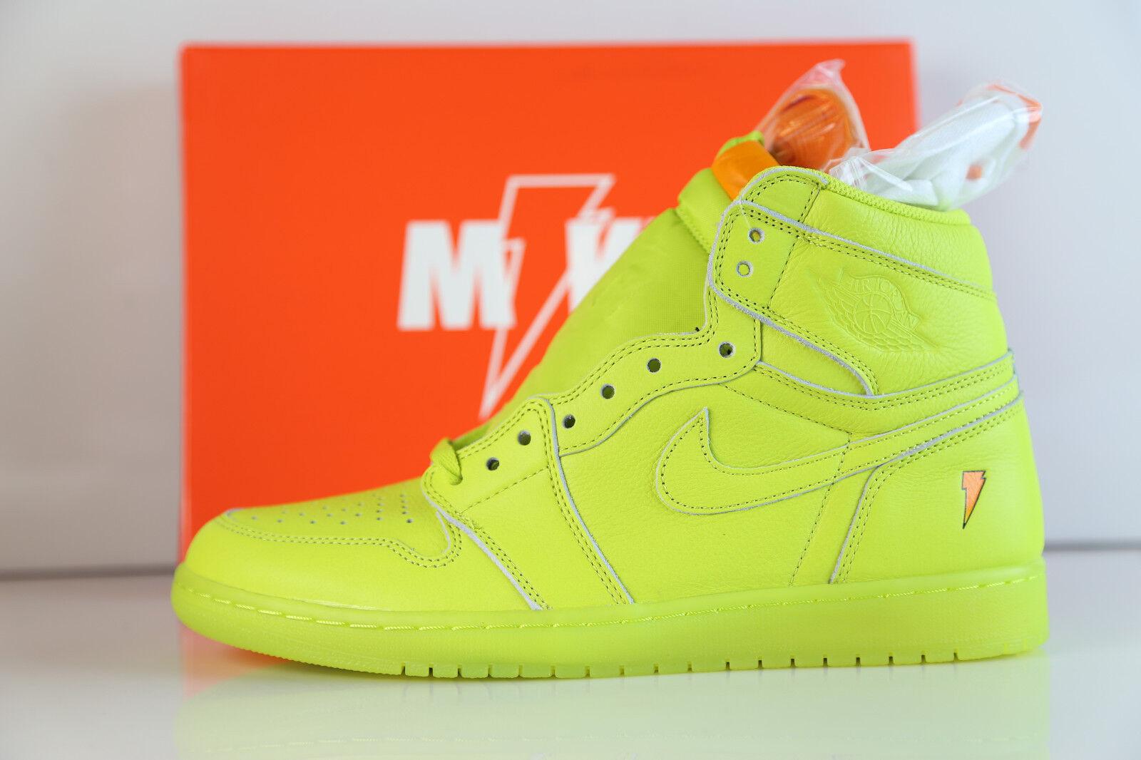 Nike Air Jordan Retro 1 1 1 High OG G8RD Gatorade Cyber AJ5997-345 8-16 lime 6 3 1 6dd83e