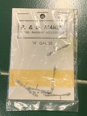 N GAUGE BEAVER PRODUCTS  N.952   L.S.W STATION NAMEBOARD x 4   WHITE METAL