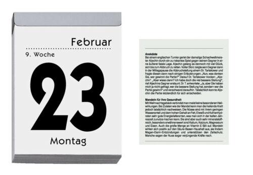 Kalender Abreisskalender Tagesabreisskalender Tageskalender 2020 305 Zettler