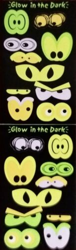 Mrs Grossman Stickers GLOW IN THE DARK EYES  2003 Free Shipping