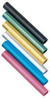Mdusa Aluminum Relay Baton Official Track & Field - Set Of 6 Batons - Pick Color