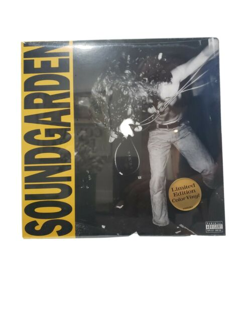 Louder Than Love Lp By Soundgarden 180 Gram Yellow Vinyl Limited 2019 For Sale Online Ebay