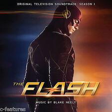 THE FLASH Season 1 BLAKE NEELY 2-CD Soundtrack LTD EDITION La-La Land SCORE New!
