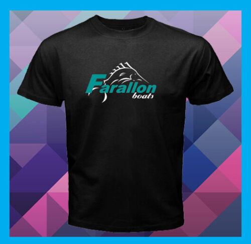 FARALLON BOATS Logo Custom Sportsfishing Men/'s Black T-Shirt S M L XL 2XL