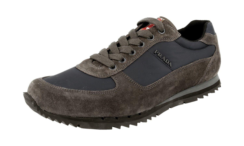 shoes PRADA LUXUEUX 4E2721 ASFALTO NAVY NOUVEAUX 7 41 41,5
