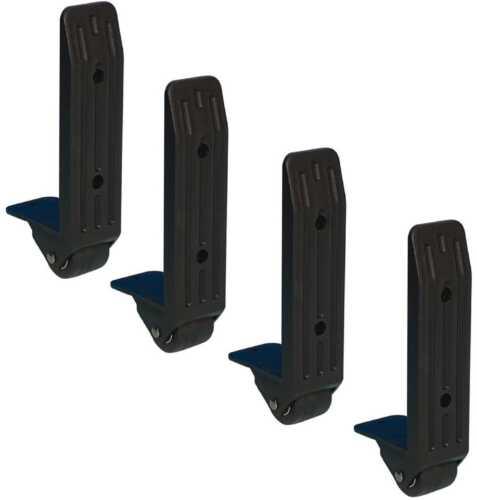 4 Stück 40 mm Kantenaufbaurolle, Kantenrolle Kofferrolle Anbau-Rolle Bock-Rolle