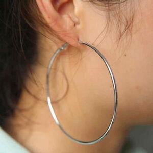 boucle d'oreille ronde femme