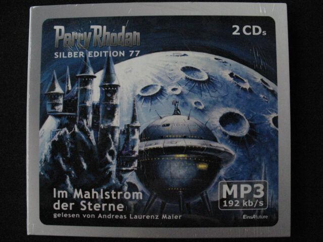 PERRY RHODAN SILBER-EDITION Nr. 77 –IM MAHLSTROM DER STERNE– 2MP3-CDs, NEUwertig