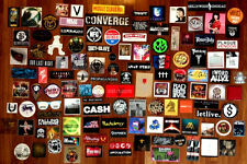 Choose Any 25 New Band Stickers For Just $35! Rock Metal Indie Punk Hip-Hop Pop