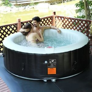 6Person-Inflatable-Heated-Bubble-SPA-Massage-Jacuzzi-Bath-Pool-Delight-Hot-Tub