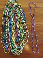 15 Mardi Gras Beads Necklaces Party Favors Motorcycle Bike Rally Bead Birthday