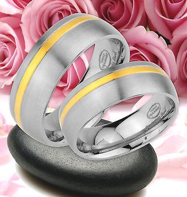 Hilfreich 2 Ringe Trauringe Eheringe Partnerringe Gold Platiert Gravur Gratis * Je53 Halten Sie Die Ganze Zeit Fit