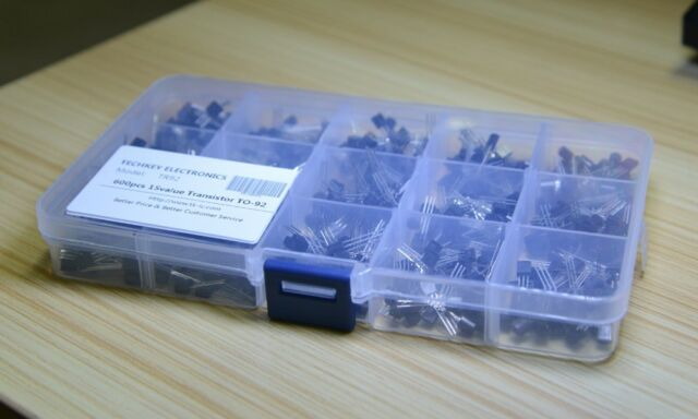 15 value 600pcs Transistor TO-92 NPN PNP kit Set