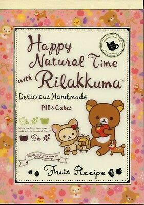 San-X Rilakkuma Relax Bear 5 Design Memo Pad #22 (Happy Natural Time)