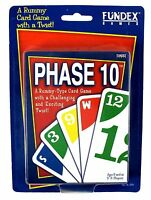 1999 Phase 10 Fundex Games Rummy Card Game With A Twist