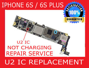 official photos 816df 4dfee Details about iPhone 6s Plus Charging IC U2 Chip Motherboard Repair Not  Charging Fix Service