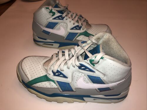 Nike Air Trainer SC High Barely Grey White Blue Sn