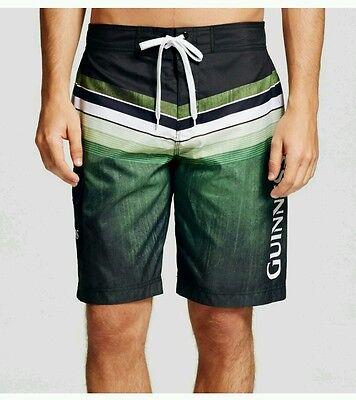 fe58eb1b6e NWT NEW Mens Guinness Swimming Trunks green swim suit shorts Small $22.99