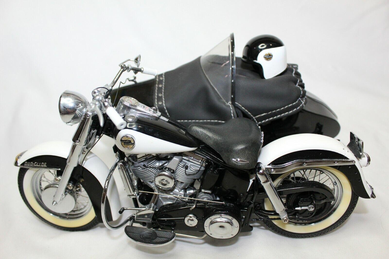 buscando agente de ventas Franklin Mint 1 10 escala escala escala 1958 Harley-Davidson Duo-Glide Con SideCoche-flojo  precio mas barato