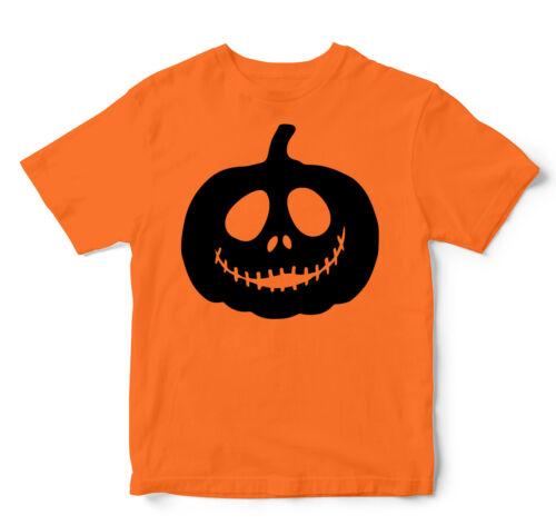 Kids Halloween Shirts Costume Pumpkin Faces Jack O Latern Boy Halloween T-shirt