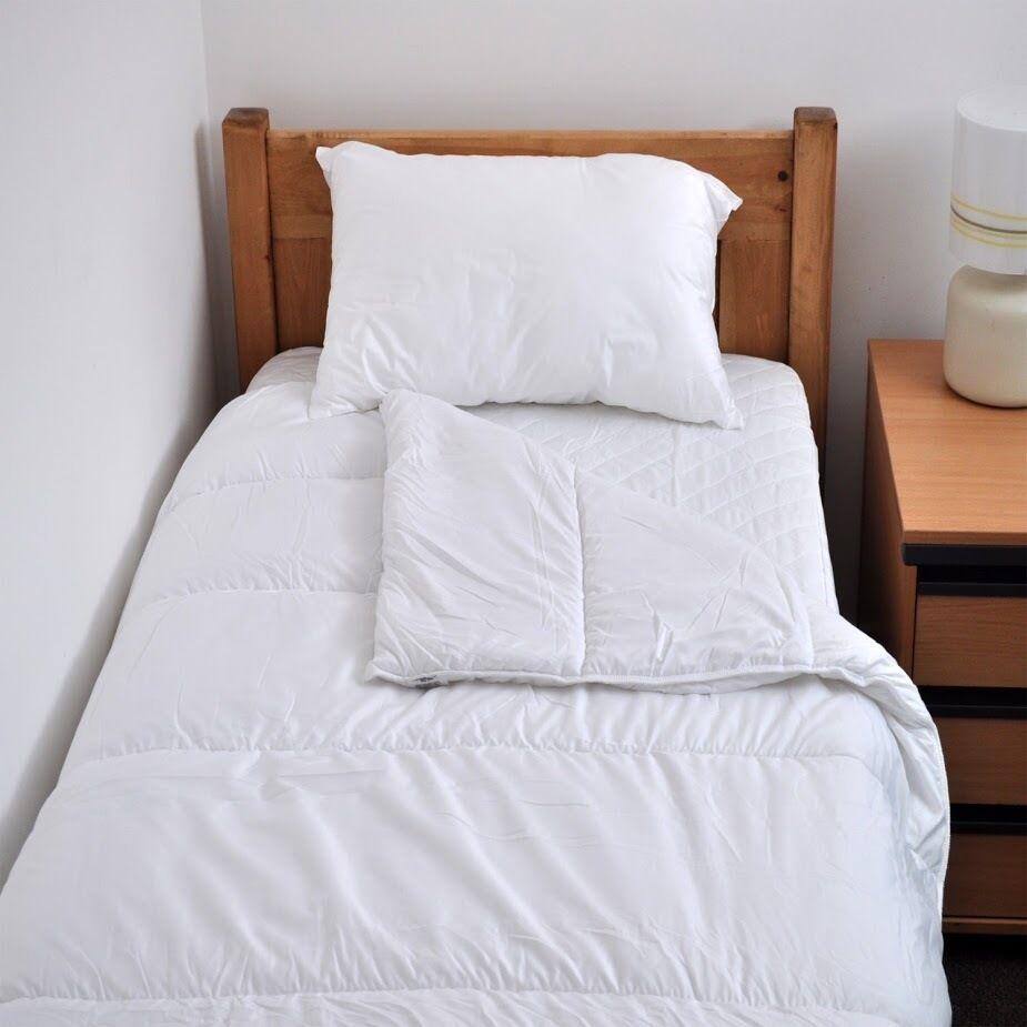 Luxury Bedding Bundle Bed Set, Student, College   University  – Single Size