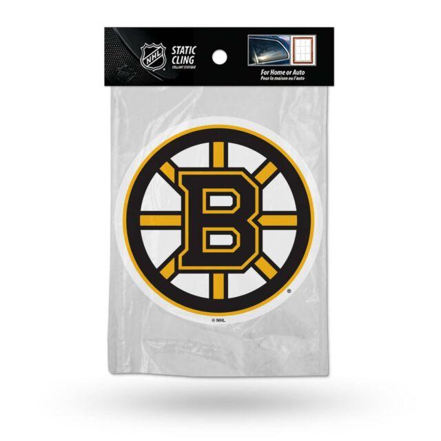 Boston Bruins Poster Size 5 Window Sticker Patch Bumper Boston Bruins Vinyl Decal