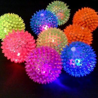 Clignotant pointus Balle haut Bouncing nouveauté sensorielle Hérisson Balle