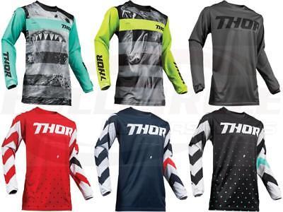 X Bike Top Jersey Thor Adults 2019 Pulse Jaws Motocross MX Moto