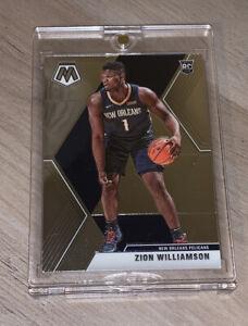 Zion Williamson PANINI MOSAIC HOT ROOKIE CARD 2019-20 RC #209 - Mint!