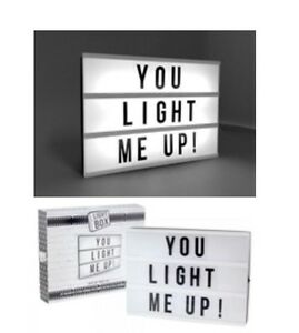 Light-Box-A4-Cinema-Sign-Wedding-Party-Gift-85-Mixed-Letter-SALE-SALE-SALE