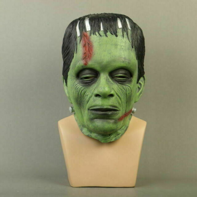 Halloween Latex Frankenstein Mask Scary Horror Dress Costume Party Masks Props