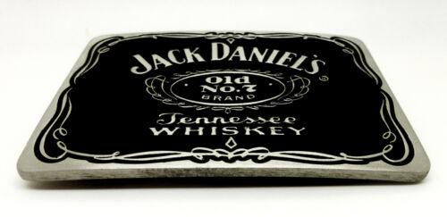 Jack Daniel`s Belt Buckle Old No 7 Brand Black Authentic Officially Licensed