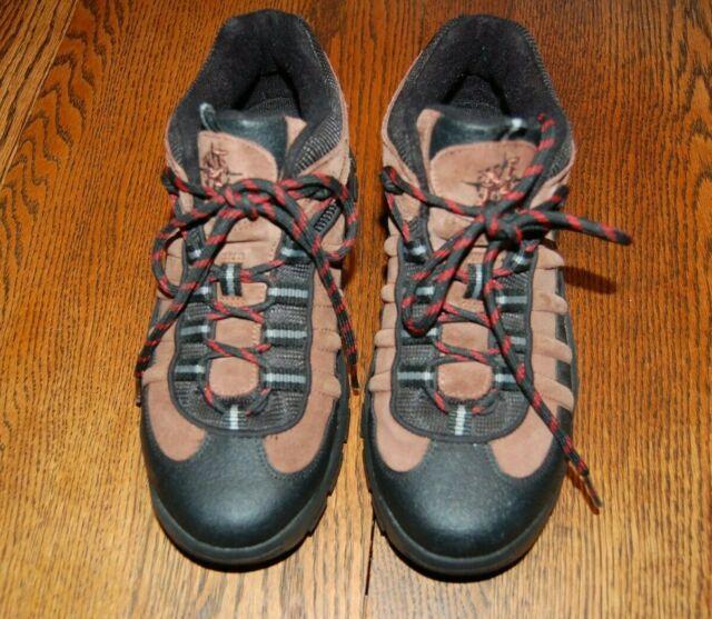 332fefd1888 Nevados Men's Hiking Boots Low Hiking Shoe Vulcan Brown Black Size 8 ...
