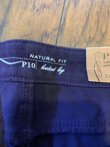 Coldwater Petite Denim Pantaloni Purple da Nwt Natural donna P10 Bootcut Creek Fit Eqw1640w