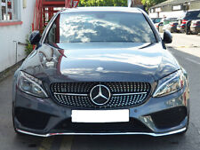 Mercedes W205 S205 C Class C180 C200 C250 C350 C450 Sport grille grill AMG Style