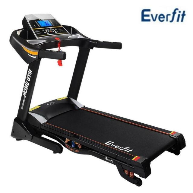 Everfit Electric Treadmill Auto Incline Home Gym Exercise Machine Fit 48cm