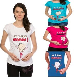 Détails sur vêtements de maternité Bevay de grossesse maternité_t Shirt avec Sweet