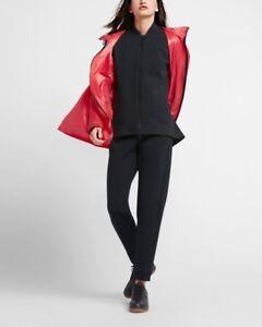 4e75220fa71e9 La imagen se está cargando Nike-Mujer-Lab-Cambiante-Chaqueta-Negra -Tech-Vellon-