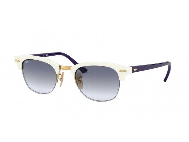Lafont Tarentelle 3072 Blue Lime Plastic Cat-Eye Eyeglasses 53mm