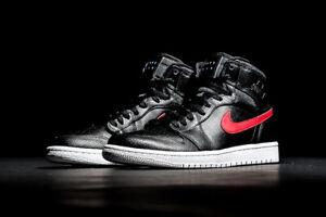 b5ed5d3e4aef20 Nike Air Jordan 1 Retro High size 15. Rare Air Patch. Black Red Bred ...