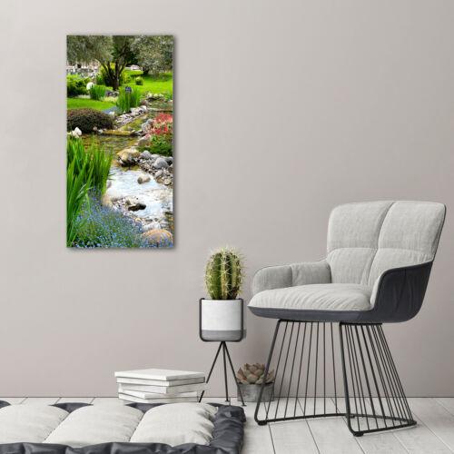 Wandbild Druck auf Plexiglas® Acryl Hochformat 50x100 Asiatischer Garten